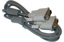 1,8m DVI Kabel Anschlußkabel / DVI 18+1 / DVI PC Bildschirm Verbindungskabel
