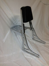 MAPAM Honda Shadow VT750 Aero Chrome Sissy Bar Back Rest W/ Luggage Rack 04-15