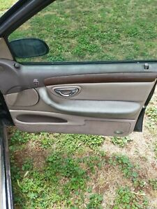 FORD NL FAIRLANE GHIA  Woodgrain Leather Door Trims V8 EF EL NF FALCON FAIRMONT