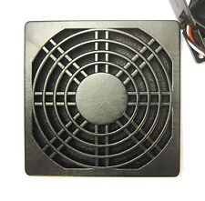 2 pcs Dust Filter Dustproof Used for 92mm 90mm 9cm DC Fan Black Color