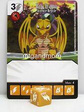 Yu-gi-oh Dice Masters - #009 bébé dragon-juvéniles reptile-base set