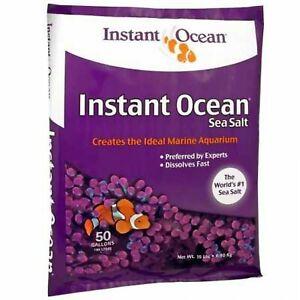 Instant Ocean Sea Salt for Marine Aquariums, Nitrate & Phosphate-Free 50-Gallon