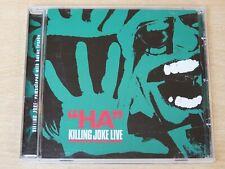 Killing Joke/Ha! Killing Joke Live/2005 CD Album