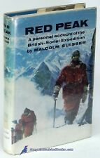 Red Peak: British-Soviet Pamir Exped. by Malcolm SLESSER Good Ex Lib HC/DJ 80419