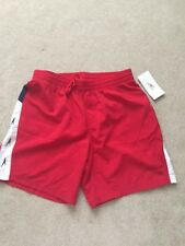 Speedo Men's Red Swim Shorts - Size Medium (BNWT)