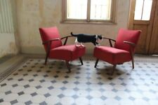 VINTAGE ARM CHAIR, 1940-50S Lounge chair halabala krásná jizba