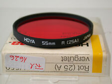 Original Hoya Rot Red Filter Foto Photo Lens 55mm E55 55 fil1626