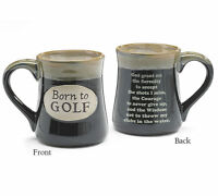Born To Golf With Serenity Prayer Ceramic Mug