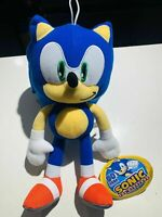 "NEW! Sonic the Hedgehog Large 12"" Plush Stuffed Authentic SEGA Toy"