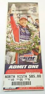 2018 Indianapolis Indy 500 Box Office Ticket Stub Will Power Takuma Sato