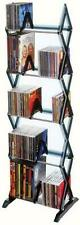 Media Shelf 5 Tier Dvd Tower Rack Game Cd Display Organizer Stand Holder