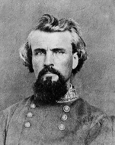 Confederate Major General Nathan Bedford Forrest-8x10 Civil War Photo