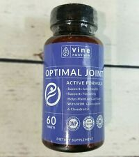 Vine Nutrition Optimal Joint MSM Glucosamine Chondroition Supplement 60 Tablets
