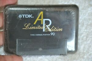 TDK AR90 Type I Limited Edition Audio Blank Cassette K7 New and Sealed