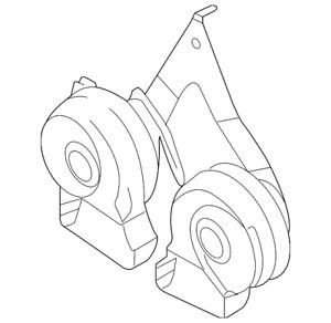 Genuine Ford Horn 8C2Z-13832-C