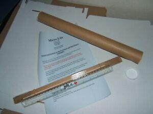 "MICRO-LITE CCFL 290mm x 1.75mm 11.5"" LAPTOP SCREEN BACKLIGHT TUBE LAMP LCD"