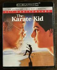 The Karate Kid 1984 Movie 4K Ultra UHD + Blu-Ray NO DIGITAL NO SLIPCOVER