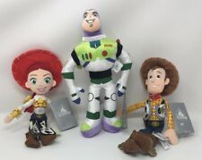 "Authenic Disney Store Toy Store 12"" Woody, Jessie, & Buzz Plush Bundle"