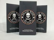 Death Wish Organic USDA Certified Whole Bean Coffee, 1lb Bag/ 3 pounds (3 pack)