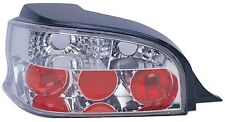 Citroen Saxo 1996-2002 Chrome Clear Lens Lexus Jewel Back Rear Tail Lights Lamps