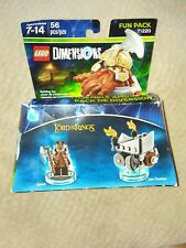 BRAND NEW LEGO Dimensions 71220 LORD OF THE RINGS Fun Pack - Gimli, Axe Chariot