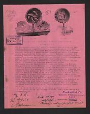 """WIESBADEN, Werbung 1924 für """"EBERCO""""-Gemüse-Schneidmaschine, Eberhardt & Co."""
