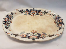 Antique SERVING PLATTER Signed EB and Anchor England