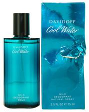 Cool Water by Davidoff For Men Deodorant Spray 2.5oz Damaged box New