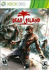 DEAD ISLAND (Xbox 360, 2011)  INCLUDES INSTRUCTIONS