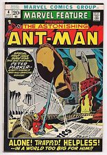 MARVEL FEATURE #4 RETURN OF ANT-MAN HIGH GRADE VF