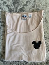 Junk Food Disney Mickey Mouse Graphic Pink Tank Top Womens Juniors Size Large