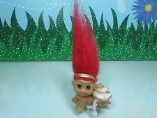 "VALENTINE CRAWLING CUPID BABY - 2"" Russ Troll Doll - VERY RARE"