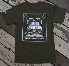LA COUNTY Junior LIFEGUARD Company / Fire Department • Men's IZOD T-Shirt LARGE