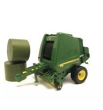 42710 BRITAINS John Deere Round Baler Kids Childrens Farming Toy 3+ Years