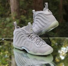 Nike Little Posite One Premium GS Size 5.5Y Wolf Grey Suede 807198-007