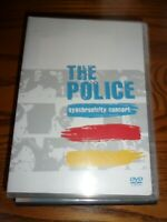 THE POLICE- SYNCHRONICITY CONCERT- DVD- WATCHED ONCE!!