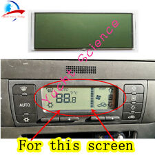 LCD Display Climate Air Con Climatronic Radio LCD SCREEN for Seat Leon Toledo