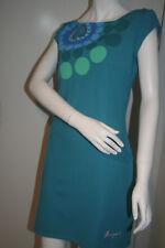 BNWT Desigual Alicia Blue Jersey Dress Size Large