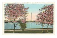 Washington City From Potomac Park Washington D.C. Unused Vintage Postcard EB173