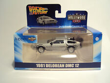 Hollywood Cars Collection Greenlight 1/43 Delorean DMC-12 Back to the Future