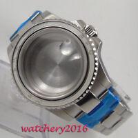 40 MM Parnis Edelstahl Sapphire Crystal Uhrengehäuse passen 8215 2836 Bewegung