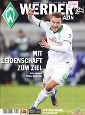 Werder Magazin + SV Werder Bremen + FC Schalke 04 + 05.04.2014 + Programm +