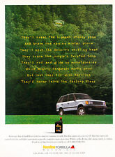 1996 Land Rover Range Rover - Stoney - Classic Vintage Advertisement Ad D156