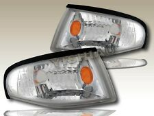 1994 1995 1996 1997 1998 FORD MUSTANG EURO CLEAR CORNER SIGNAL LIGHTS 2-DOOR