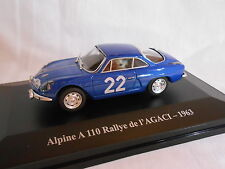RENAULT ALPINE A 110  RALLYE DE L'AGACI DE 1963