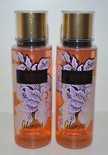 Lote de 2 VICTORIA'S Secret Glamour Fragancia Niebla Cuerpo Spray Splash 248ml