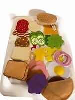 Melissa & Doug Felt Sandwich Set 33 Pieces