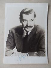 "Jerry Colonna - 5"" X 7"" Autographed Photograph - Vintage 1940's - From Estate"