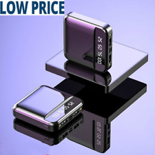 12000mAh Mini Power Bank For All Phones Dual USB Ports External Battery Charger