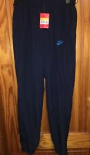 Mens Nike Joggers Track Bottoms Size S Small - Dark Blue Navy New